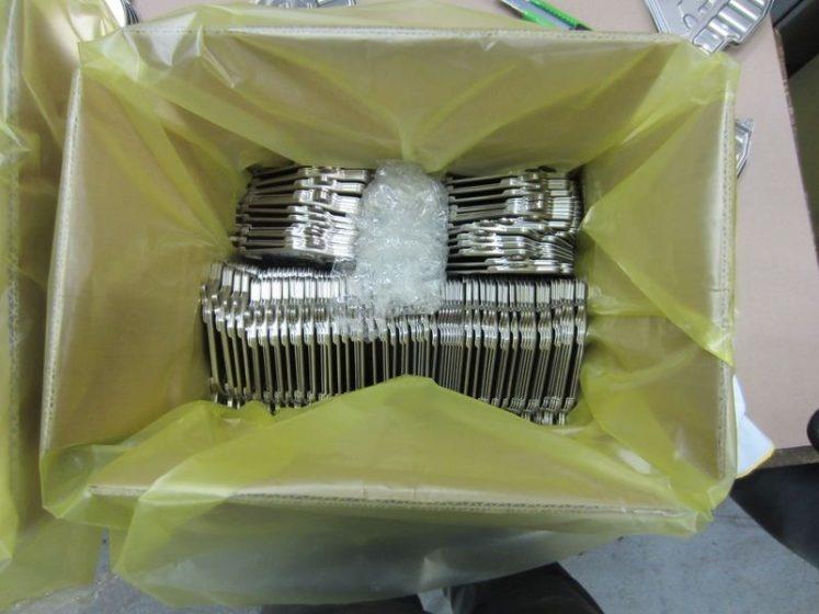 Zerust Corrosiewerend VCI zakken valeno 320 type F Transparant geel - 310 x 210 x 400 mm x T100my rol a 650 stuks