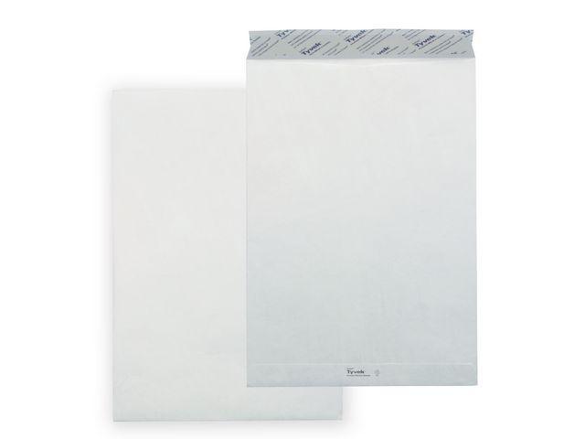 Tyvek TYVEK Ultra Lichte Akte Envelop C5 162x229 mm 55 G/m zelfklevend 5 x100 st per doos