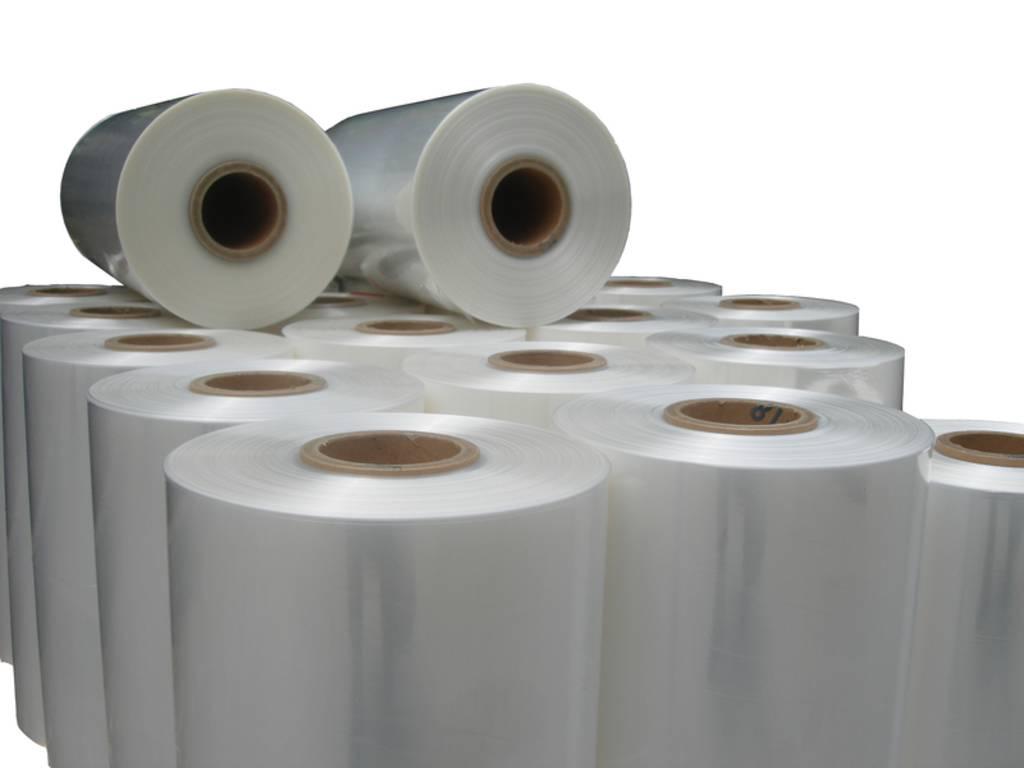 Polyolefine krimpfolie  350/350 mm x 1067 mtr  x 0.019 mm Castelli-film FS 5 laags coex