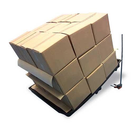 Grip-sheet of tussenvel lengte 1200 mm x breedte 800 mm bruin prijs p/Pak a 100 vel