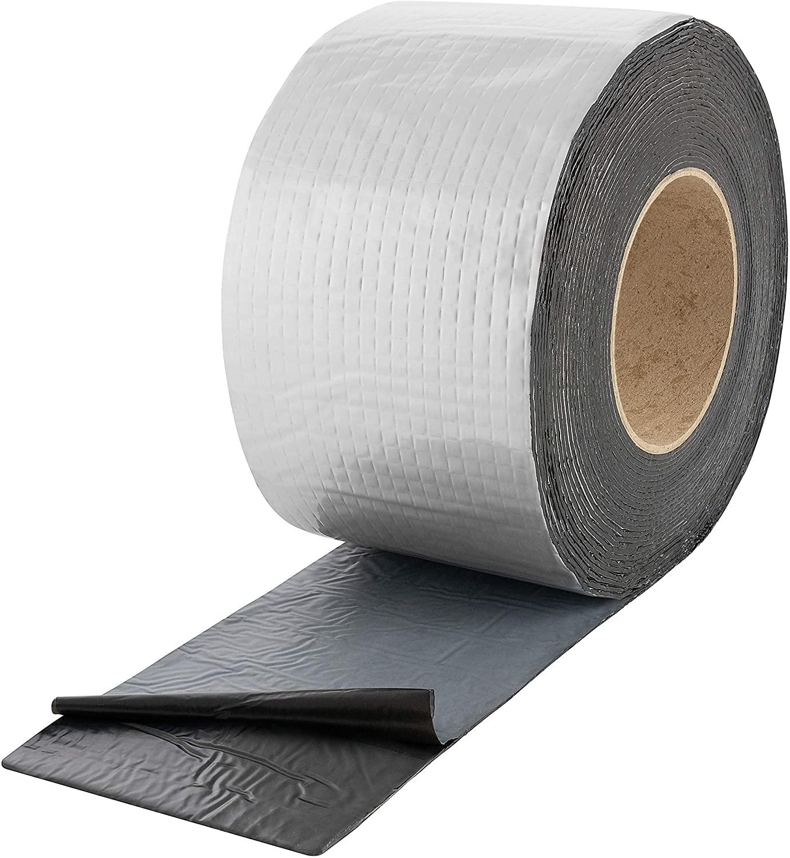 Bitumenband Aluminiumtape zilver 100mm x 10 mtr. 12 rol/ per doos