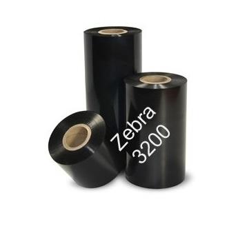 Zebra Zebra Z3200 compatible wax/risen premium 110 mm x 450 meter 9 rollen / doos