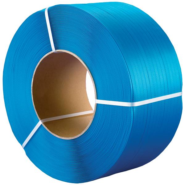 PP Omsnoeringsband B 16/ 055 mm x L 2000 mtr Kern 200 mm blauw strappingband, 2 rol /ds