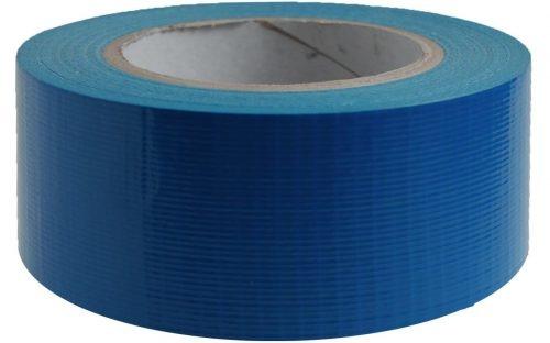 Duct tape  Blauw 50 mm x 50 mtr - Professioneel, 24 rol/ per doos