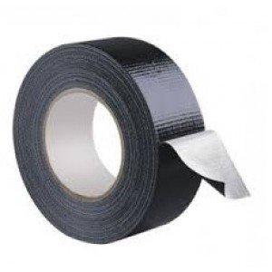 Duct tape 48 mm x 50 mtr Zwart scapa 3160 - Universeel, 24 rol/ per doos