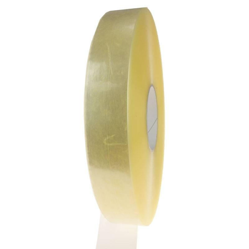 Machine tape PP hotmelt 990 mtr x 38 mm transparant, 8 rol/per doos