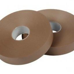 Machine tape PP hotmelt 990 mtr x 48 mm bruin, 6 rol/per doos