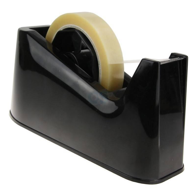 N-1900 Tapedispenser zwart 5 - 25 mm