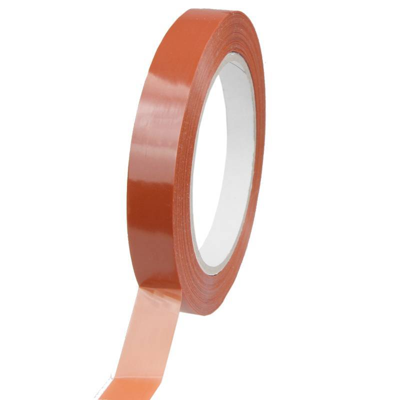Strapping tape 15 mm x 66 mtr oranje, 120 rol/ds
