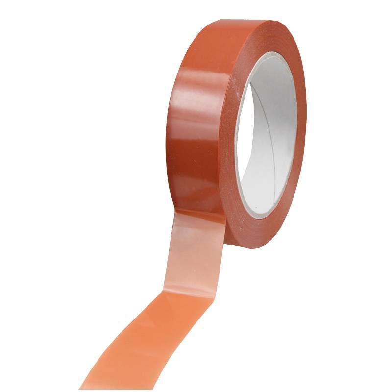 Strapping tape 25 mm x 66 mtr oranje, 72 rol/ds