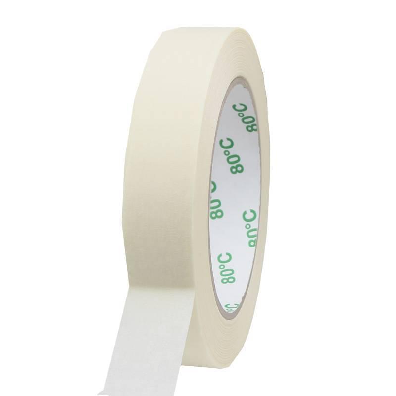 Masking tape Pro 80°C 25 mm x 50 mtr, 36 rol/per doos