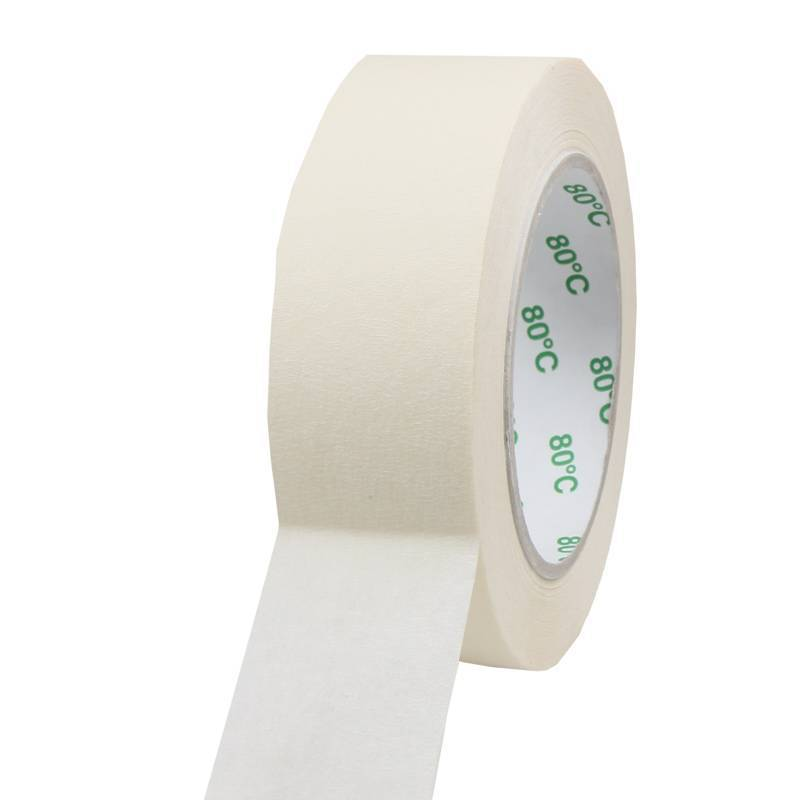 Masking tape Pro 80°C 38 mm x 50 mtr, 24 rol/per doos