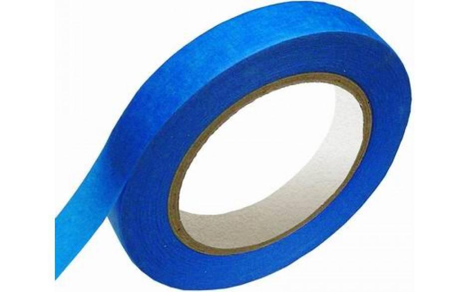 Masking tape Blauw UV 25 mm x 50 mtr, 36 rol/per doos