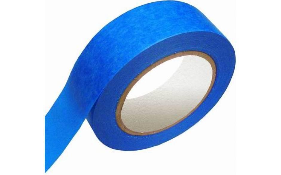 Masking tape Blauw UV 38 mm x 50 mtr, 24 rol/per doos