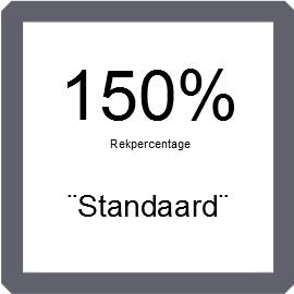 Machinefolie standaard 50 mm x 2.000 mtr, TRANSPARANT 150% rek 17 micron