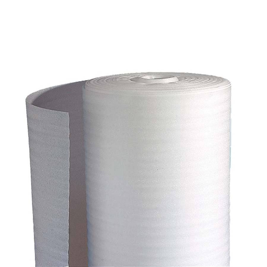 SCHUIMFOLIE 100 CM X 250 MTR WIT 2 MM