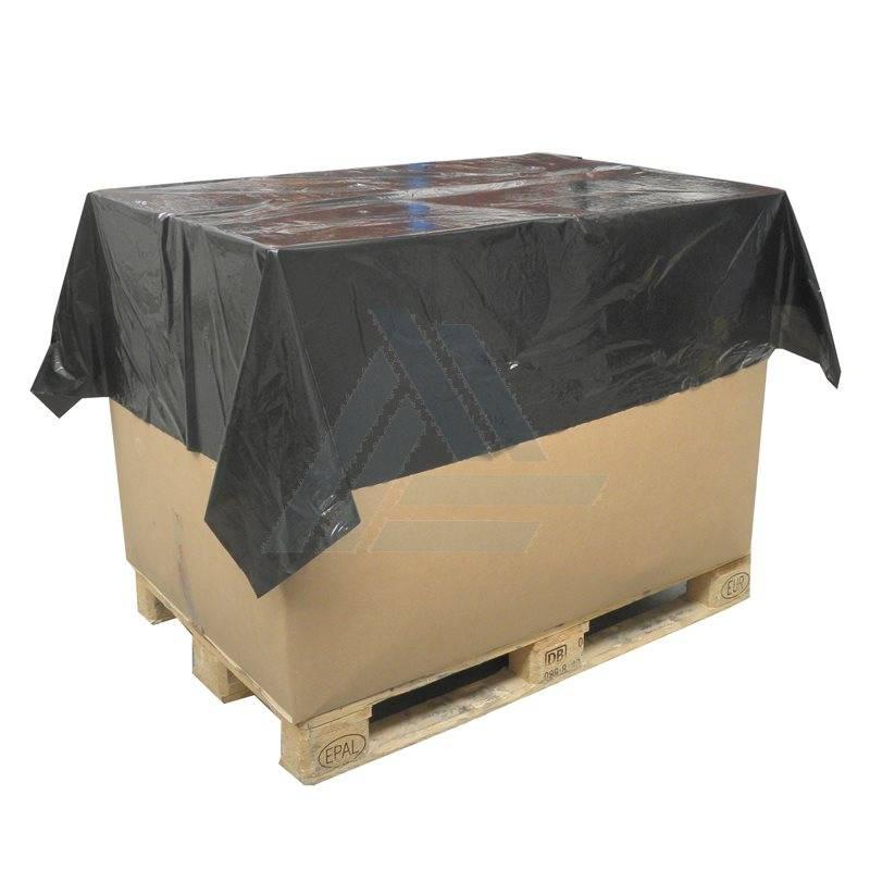 LDPE vellen 1400 mm x 1800 mm 30mu Zwart, 300 st/rol