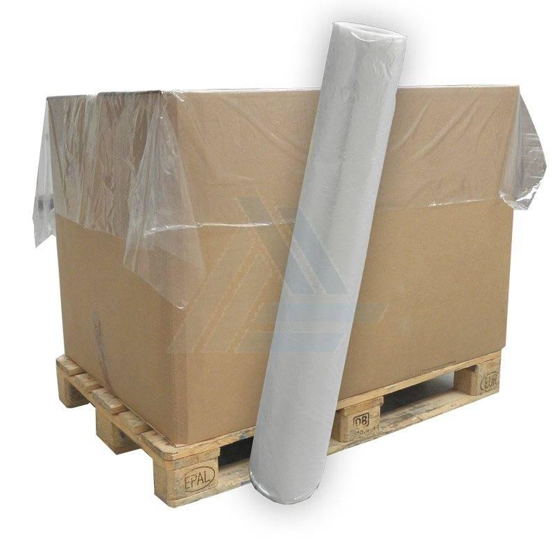 HDPE vellen 1600 mm x 1800 mm 15mu transparant,  500 st/rol