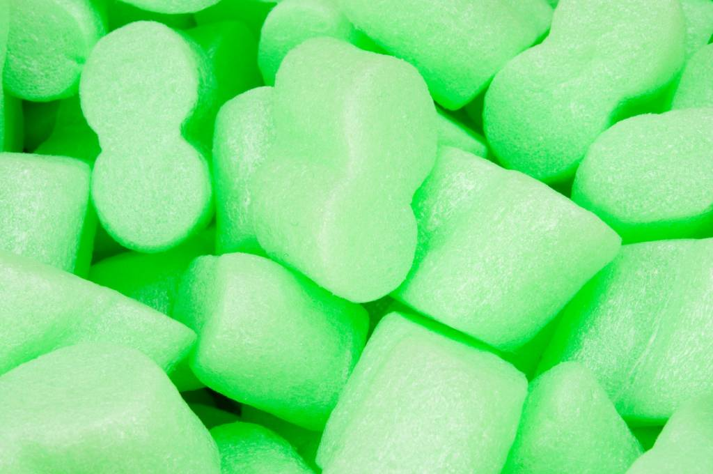 Flo pak Flo-Pak GREEN  opvulchips 500 liter, milieuvriendelijk