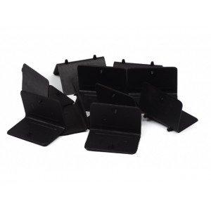 Hoekbeschermers Open 50/35 zwart met Pin, 2000 st/ds
