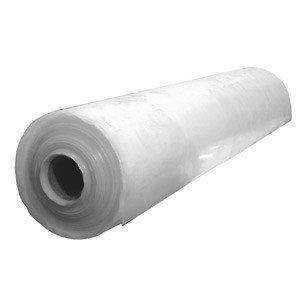LDPE vlakfolie 1200 mm x 100 mtr transparant 100 mu op rol
