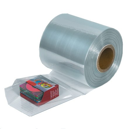 LDPE buisfolie 40 cm 100mu 10 kilo per rol