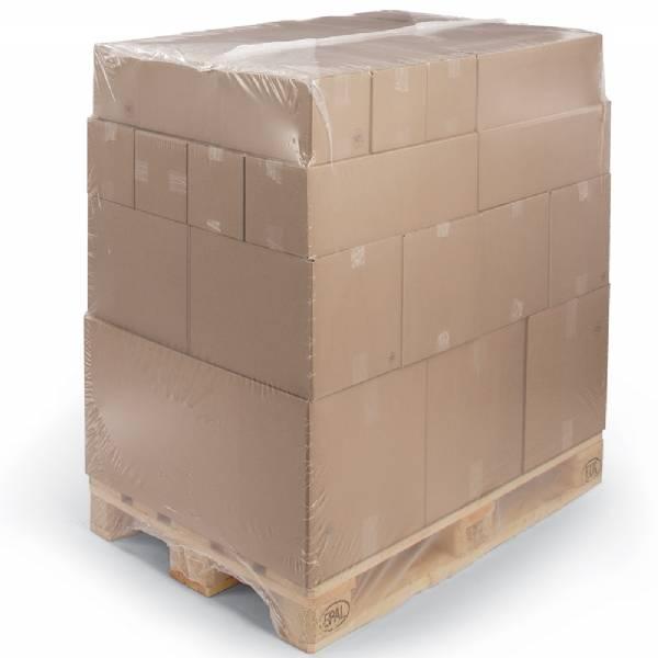 LDPE Krimphoezen 1300 / 550 x 2500 mm 100mu, 25 st/rol