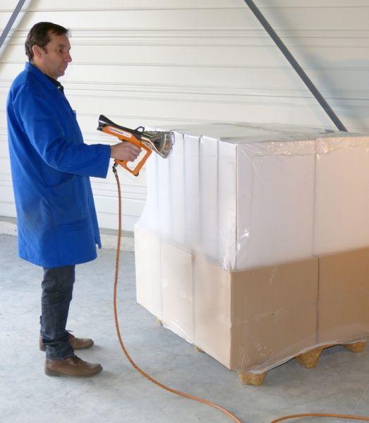LDPE Krimphoezen 1250 / 525 x 2200 mm 100mu, 25 st/rol