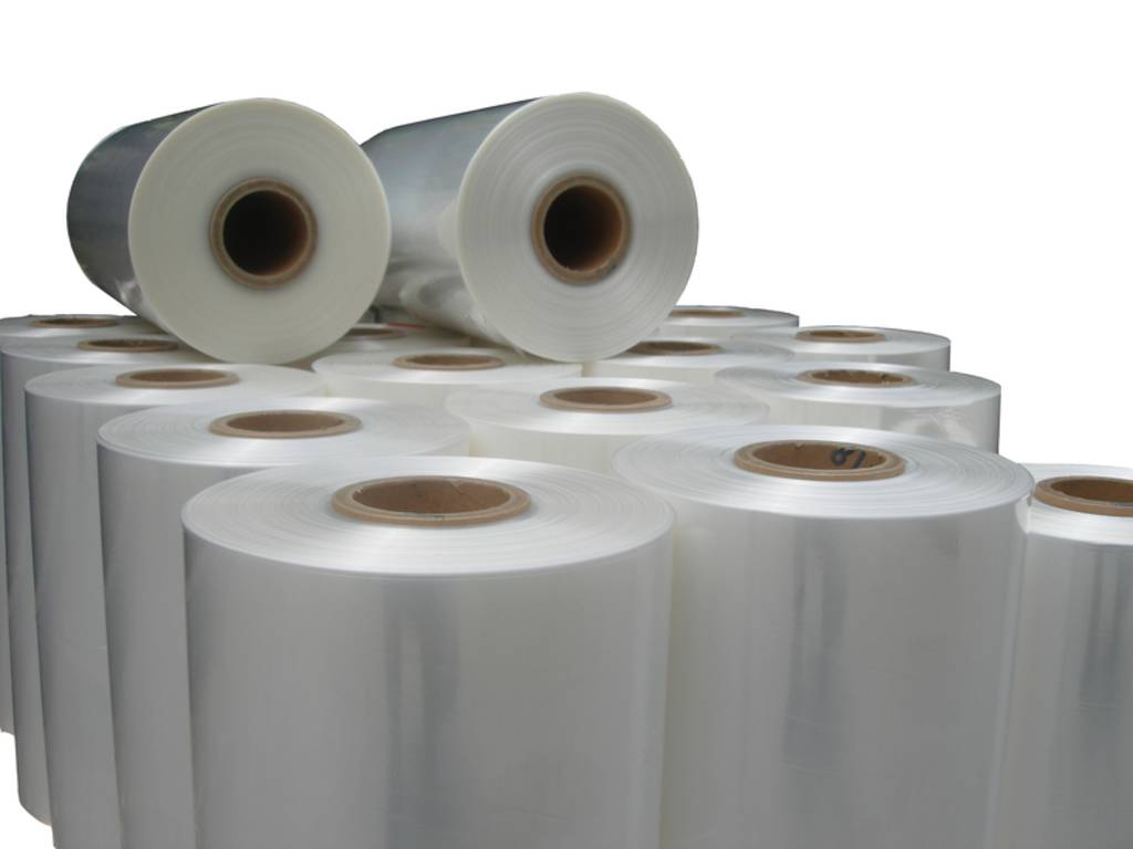 Polyolefine krimpfolie  450/450 mm x 1250 mtr  x 0.015 mm