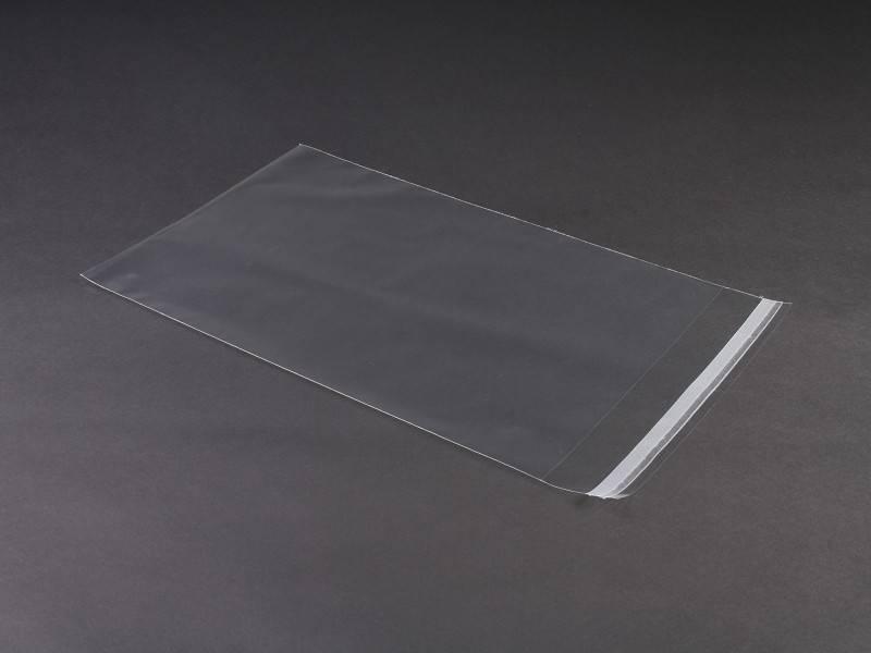 verzendenvelop LDPE A4 220x310+50mm, 50 micron, 1000 st/ds