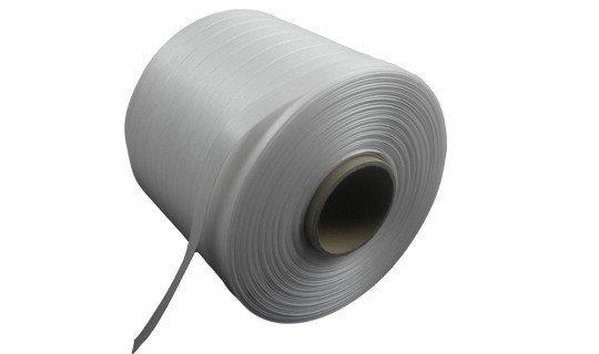 balenpersband 13 mm x 500mtr  wit 40 P, 4 rol/ds
