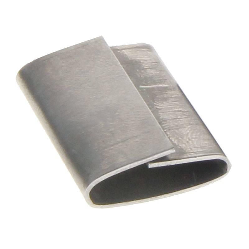 Staalband zegel 19 mm met overlap 1000 st/ds