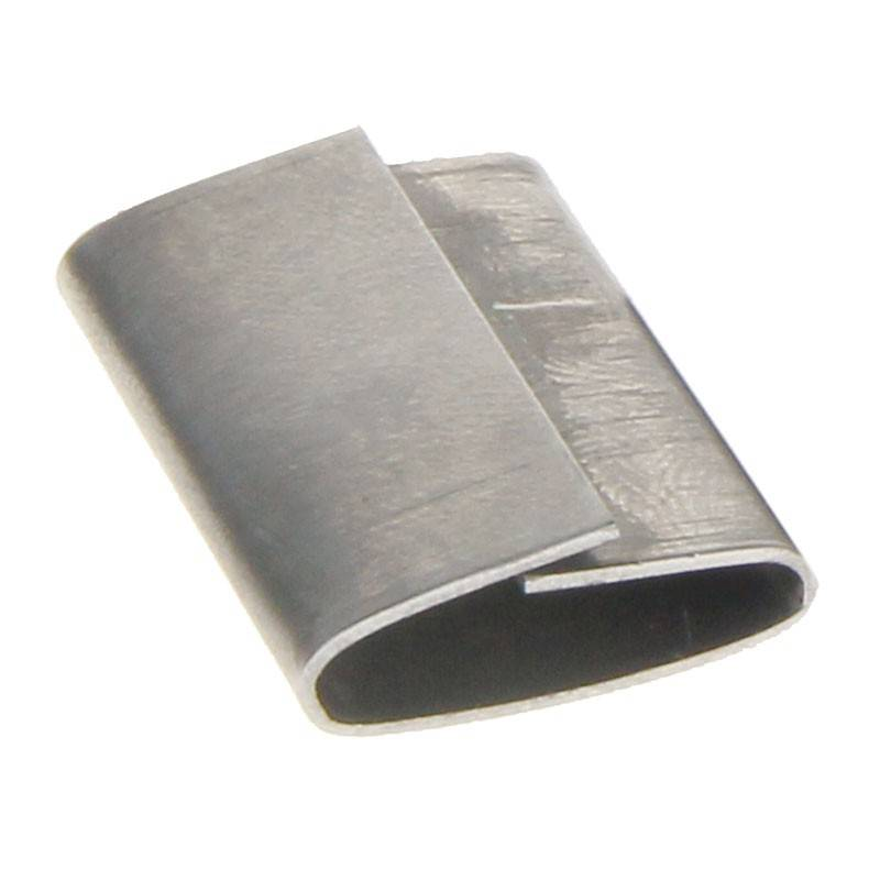 Staalband zegel 16 mm met overlap 1000 st/ds
