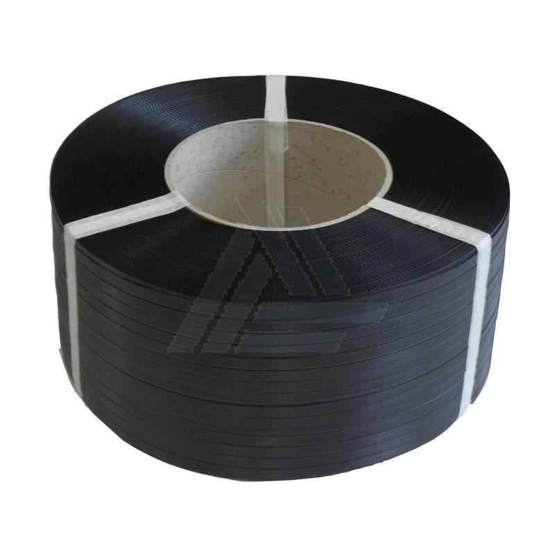 PP Omsnoeringsband B 5 / 035 mm x L 7000 mtr K185 zwart strappingband, 2 rol/ds