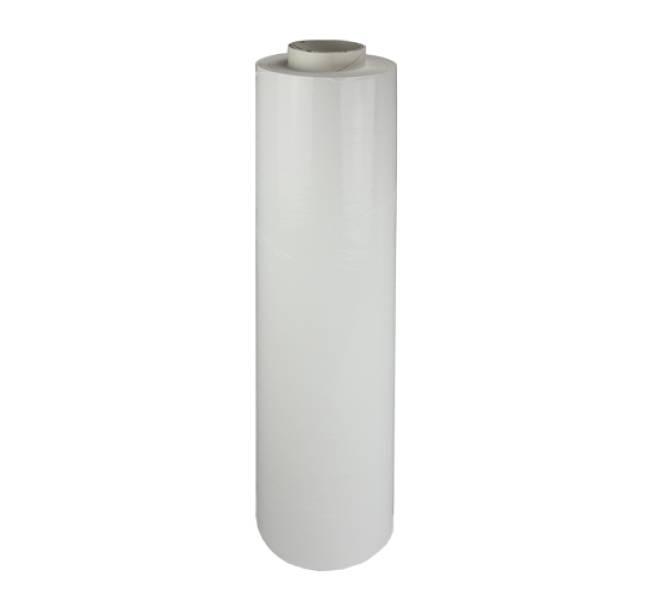 Rekfolie Handwrap B 500 mm x L 300 mtr, 20my wit, 6 rol/ds