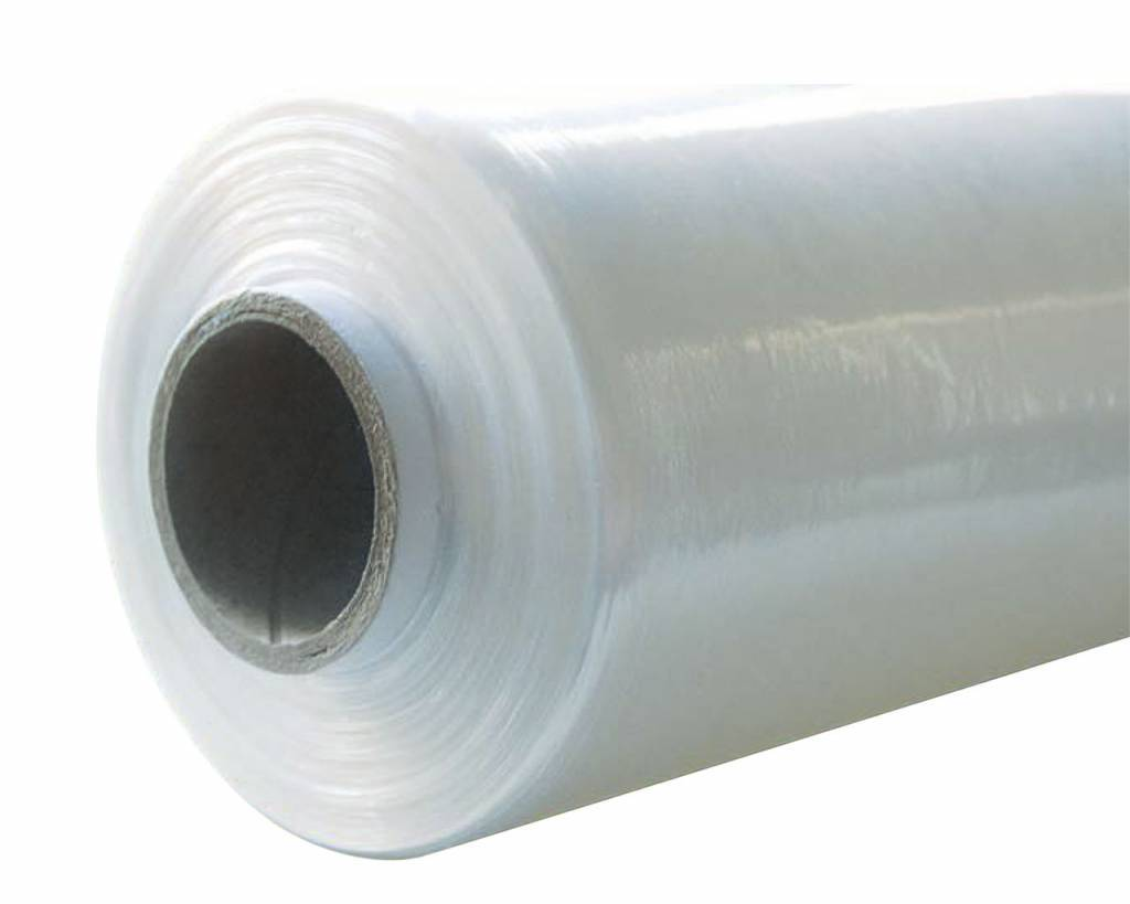 Rekfolie Handwrap B 500 mm x L 300 mtr, 19my transparant type 20, 6 rol/ds