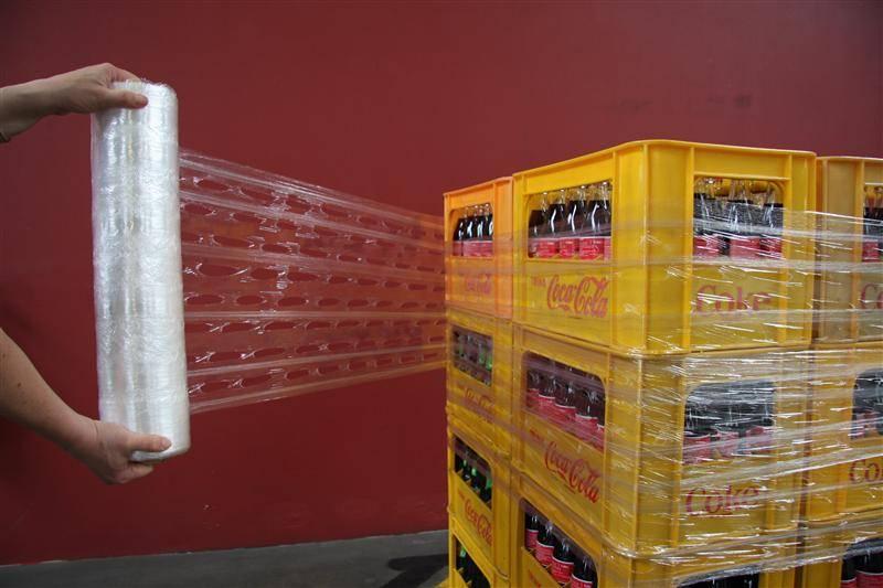 Gatenfolie Superieur 410 mm x 250 mtr, 9 mu  handrollen  (levertijd min.1 week)