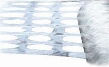 Gatenfolie Powerstretch 460 mm x 1000 mtr, 35 mu Transparant, machinerollen  (prijs per rol)