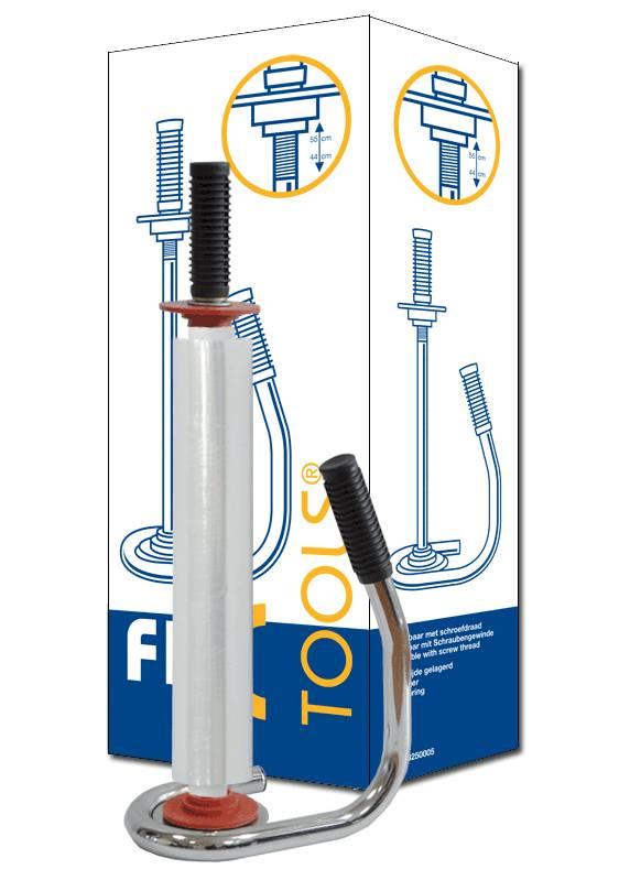 Folie dispenser Fixtool HW5045 Chroom gelagerd
