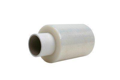 Bundelfolie B 125 mm x L 150 mtr x D. 0,023 mm transparant, Kern 38/140, 24 rol/ds