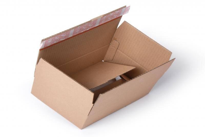 Packfix doos 400 x 26 x 25 cm Bruin, 20 st/pak