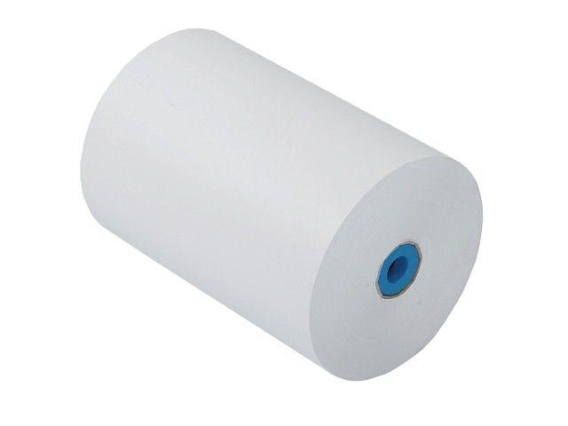 Gebleekt kraft papier 50 cm x 490 mtr  40gr/m2 wit