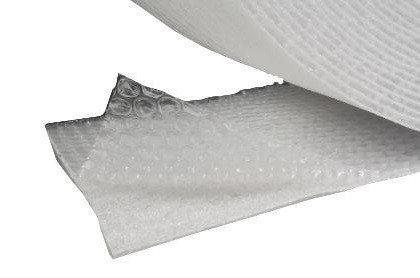 Luchtkussenfolie rol 150 cm x 100 mtr 75 micron 3 LAAGS met 1 mm foam
