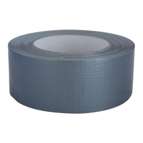 Duct tape 50 mm x 50 mtr Grijs - Professioneel, 18 rol/ per doos
