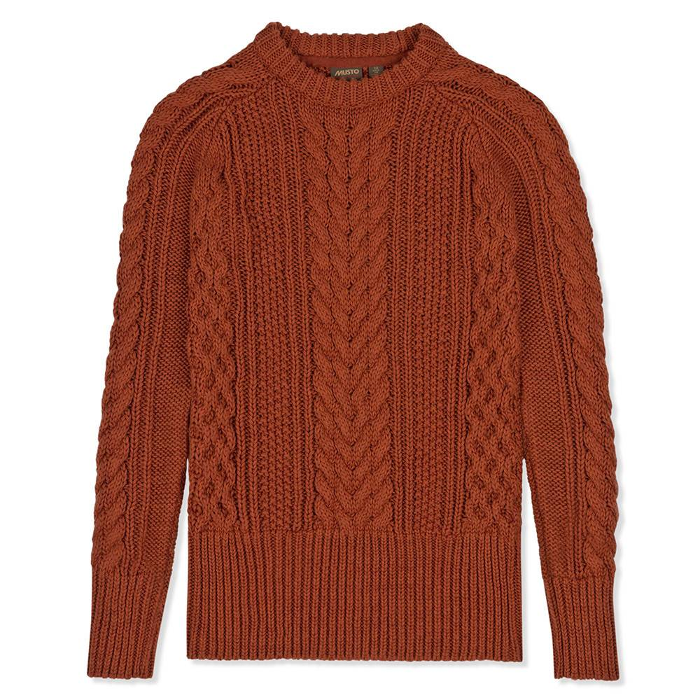 08b9178b418 Musto Womens Hollie Cable Knit Jumper - Mestari Country Clothing