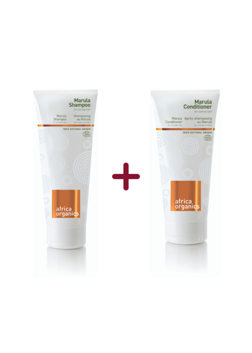 Africa Organics Marula Shampoo & Conditioner