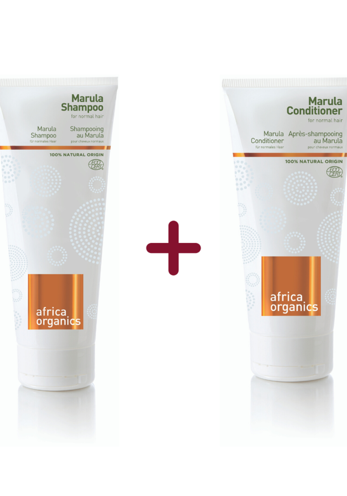 Marula Shampoo & Conditioner