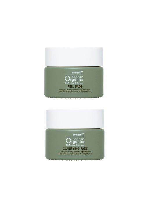 EmerginC At-Home Facial Peel + Clarifying Kit