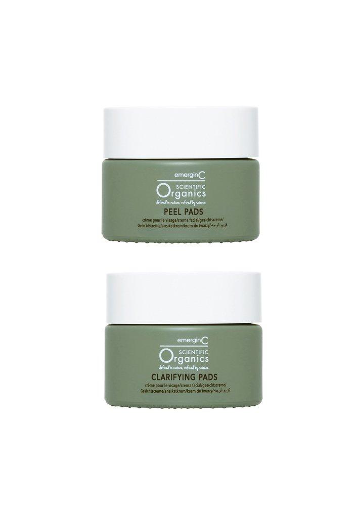 At-Home Facial Peel + Clarifying Kit