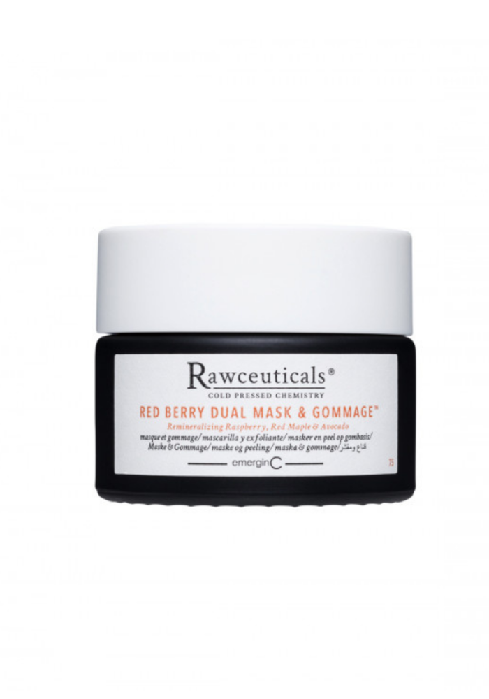 Rawceuticals - Red Berry Dual Mask & Gommage